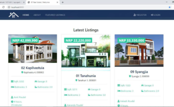 Real Estate recommendation system