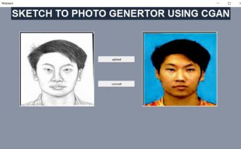 Forensic sketch to image generator using GAN