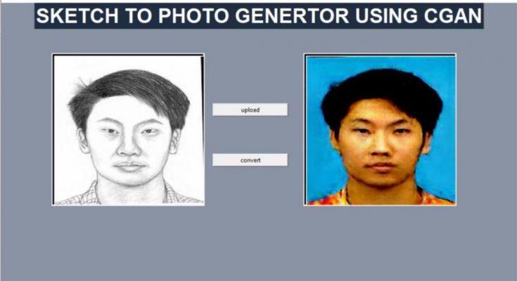 Forensic sketch to image generator using GAN