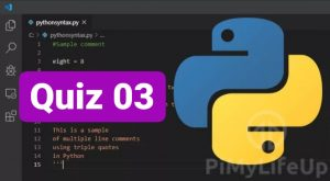 Python Quiz Questions & Answer