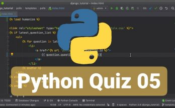 python quiz 05
