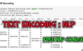 text encoding nlp full course